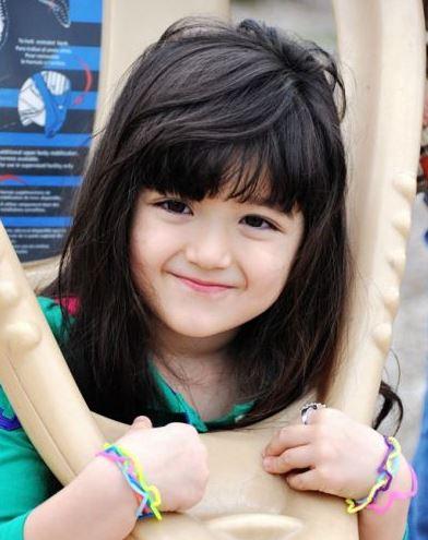 Foto Anak Kecil Wanita Lucu