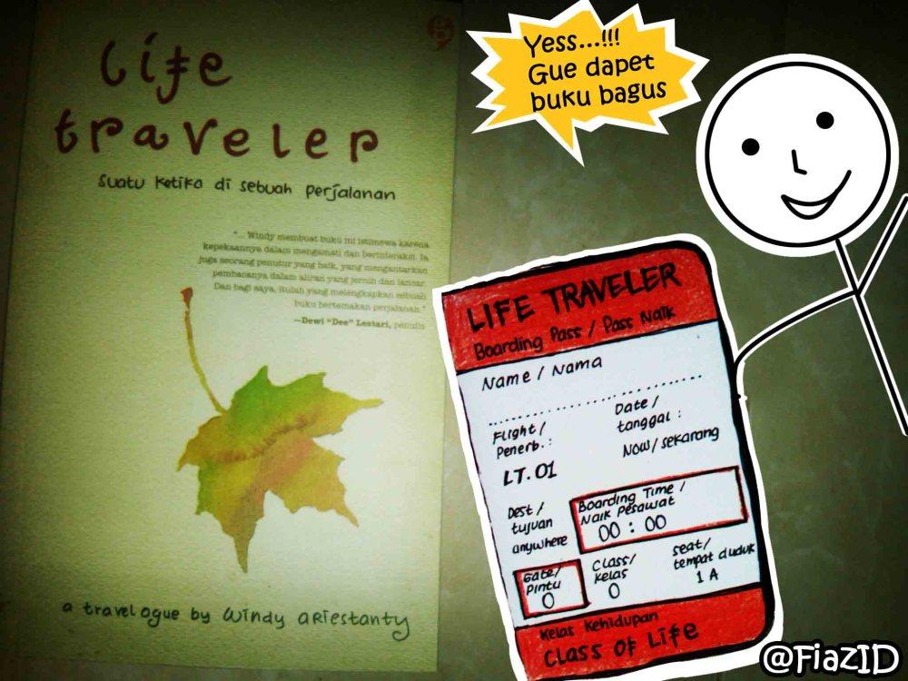 life traveler book