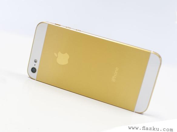 iPhone 5S gold fiazku